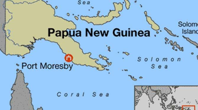 Papua Yeni Gine'de deprem!