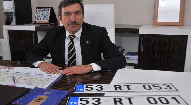 Rize'de plakalar için RTE mücadelesi!
