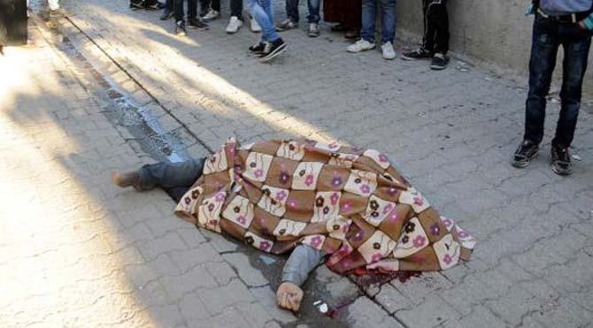 Sokak ortasında infaz!