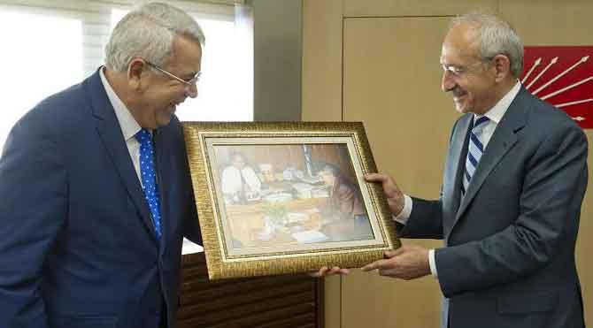 Kılıçdaroğlu TUMOG başkanıyla görüştü