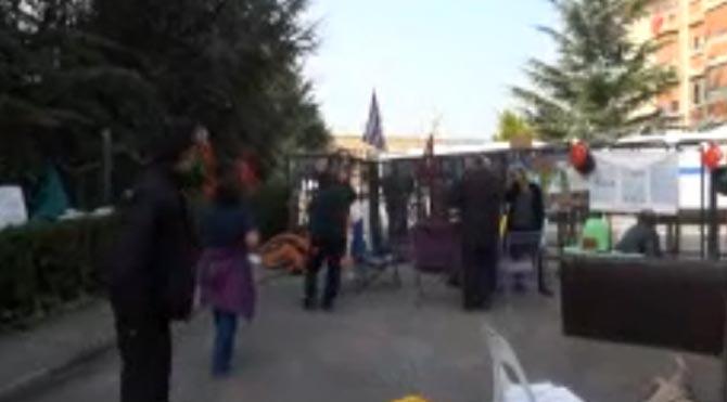 Validebağ'da polise tepki