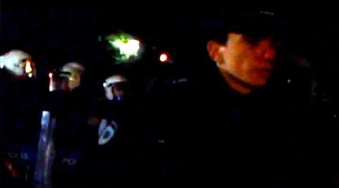 Validebağ eylemcilerine polis müdahalesi
