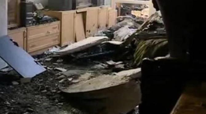 Elazığ'da 4 ev kül oldu