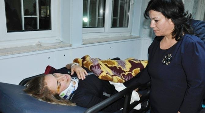 CHP'liler trafik kazası geçirdi