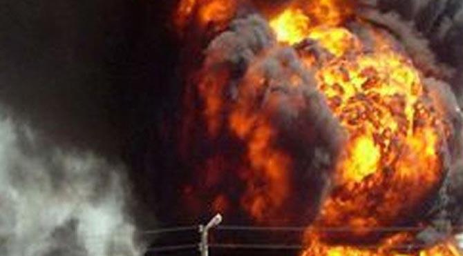Varil bombalı saldırı: 10 ölü, 25 yaralı
