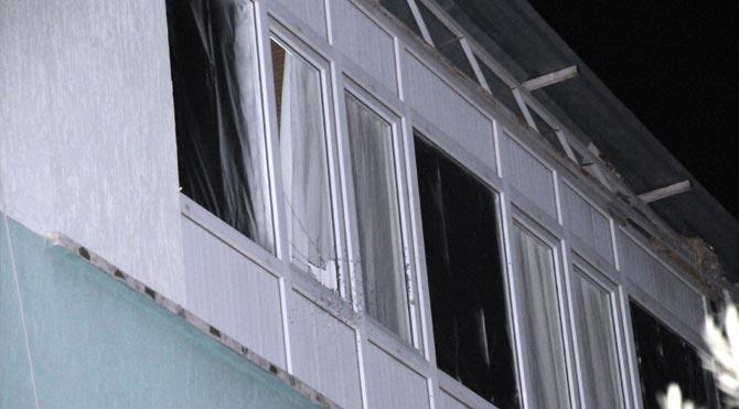 MHP İlçe Başkanının evine silahlı saldırı