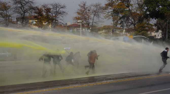 Ankara'da müdahale!