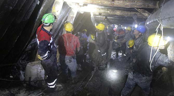 Maden faciasının 12'nci günü