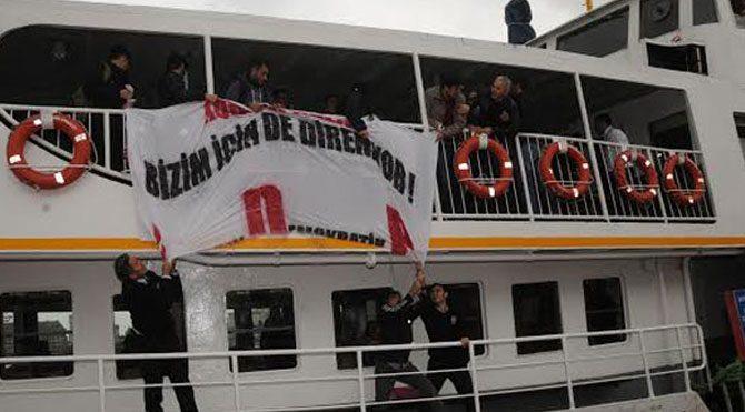 Kobani eylemcilerine 8 yıl hapis istemi