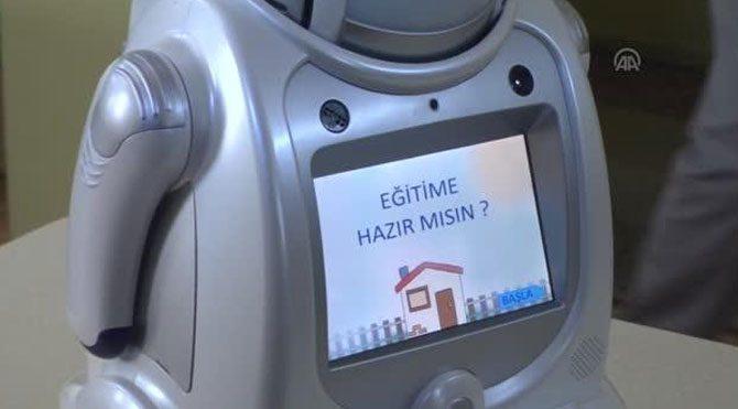 Robotlu eğitim Erzincan'da başladı