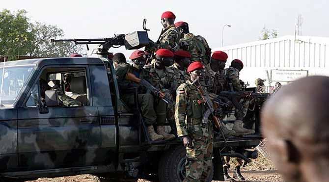 Sudan Cumhurbaşkanlığı Sarayı'na saldırı