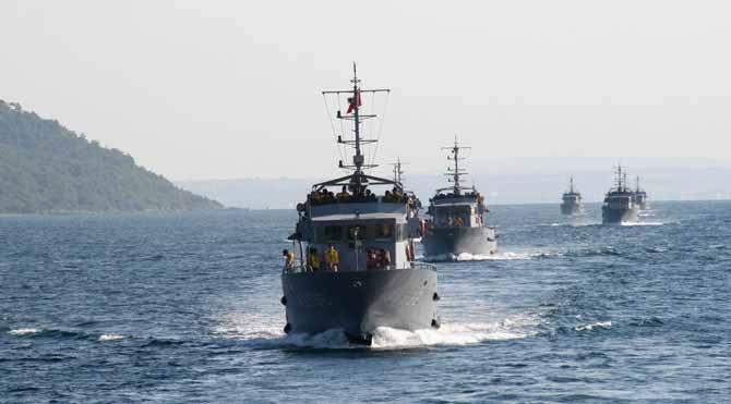 Angajman yetkisi Deniz Kuvvetleri'nde