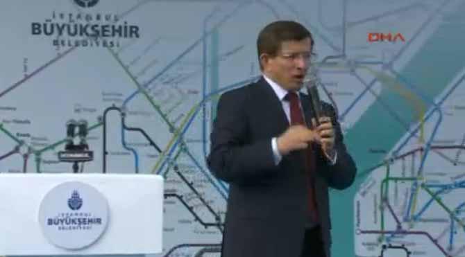 Davutoğlu metro açtı