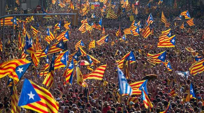 Katalanlar sandık başında