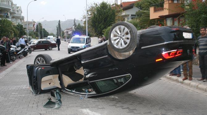Marmaris'te trafik kazası