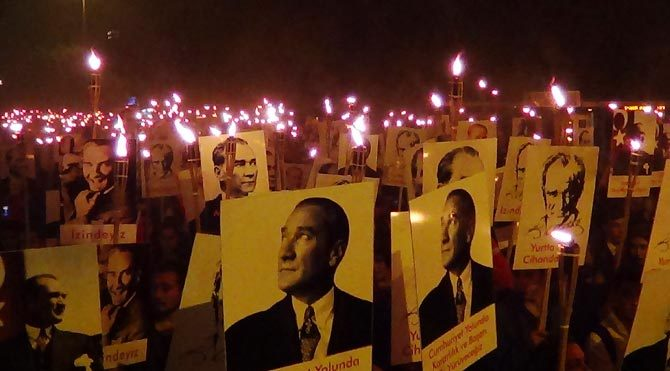 Ata'ya Saygı Yürüyüşü