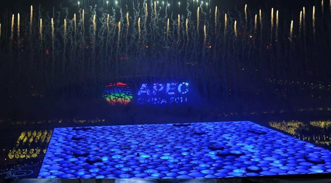 APEC zirvesinde muhteşem gösterisi