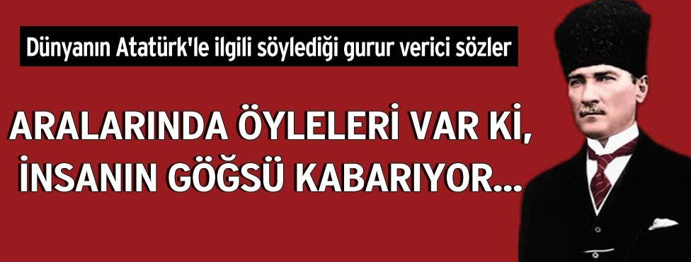 Dünyanın Atatürkle Ilgili Söylediği Sözler Sözcü Gazetesi