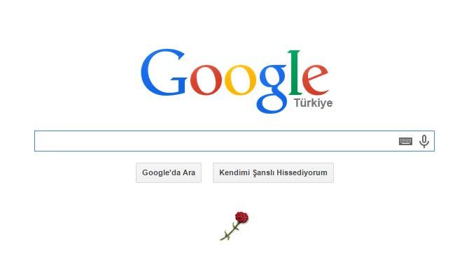 Google, 10 Kasım'ı unuttu