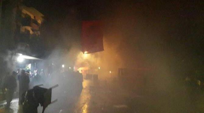 Validebağ'da toz dumana karıştı!