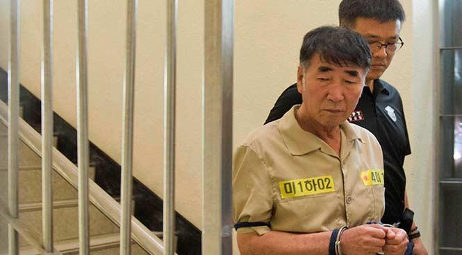 Güney Koreli kaptana 36 yıl hapis