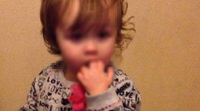 2 yaşındaki kızını haşlayarak öldürdü
