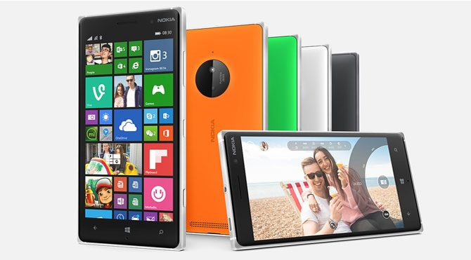Microsoft Lumia görücüye çıkıyor
