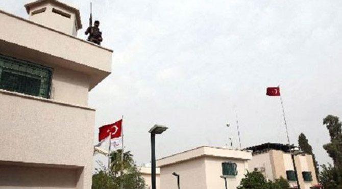 """""""Türkiye'nin Musul Başkonsolosluğu binası vuruldu"""""""