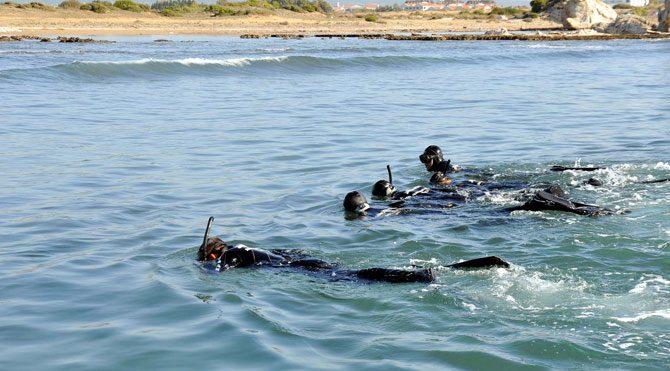 Denizde kaybolan Alman turist aranıyor