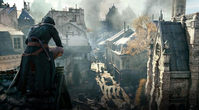 Assassin's Creed Unity en iyi grafiklerle