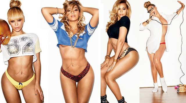 Beyonce yine Photoshoplu mu?