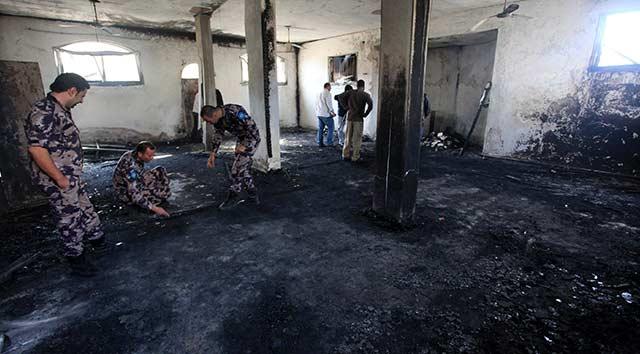 Radikal Yahudi yerleşimciler cami yaktı