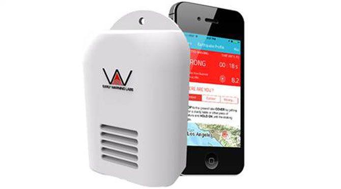 Deprem için mobil uygulama