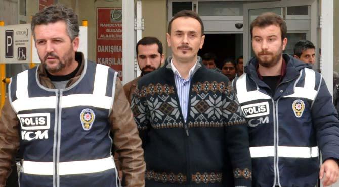 Edirne'de bir polise gözaltı