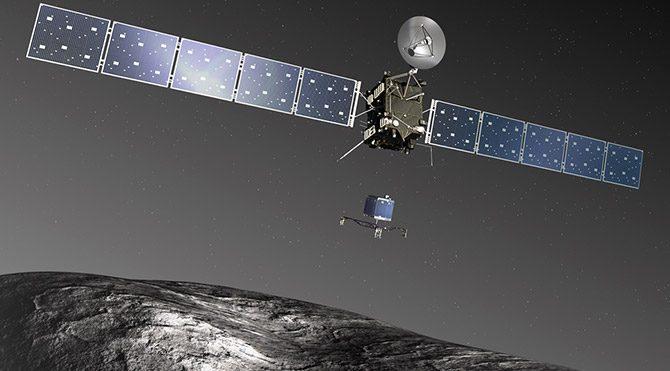 Rosetta Uzay Aracı kuyruklu yıldıza yerleşecek