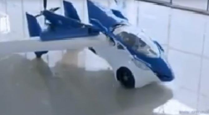 Uçan araba AeroMobil 3.0.