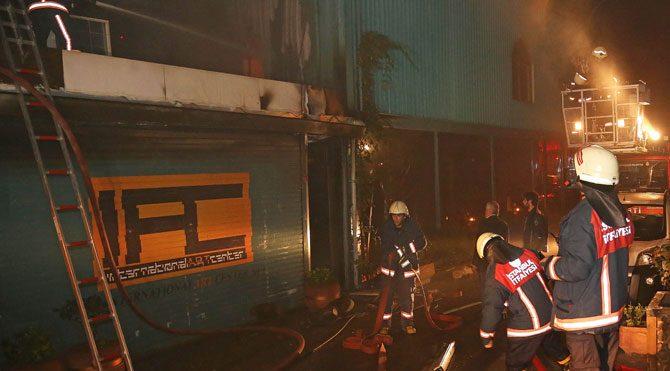 Üsküdar'da yangın
