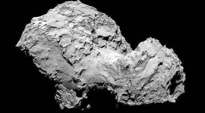 Philae, Rosetta ile Kuyruklu Yıldız'a indi