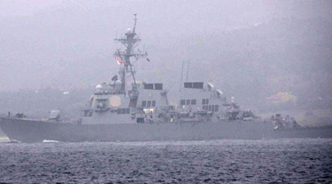 Çuval geçirilen askerlerin gemisi Türk bayrağı astı