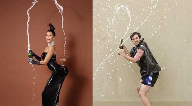 7 adımda Kim Kardashian pozu