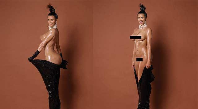 Kardashian'ın yeni pozları ortaya çıktı