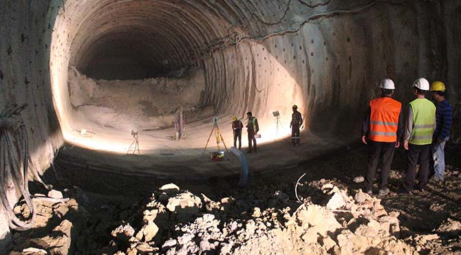 Konak Tünelleri'nde sona gelindi