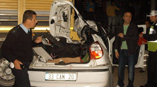 Mersin'de katliam gibi kaza!
