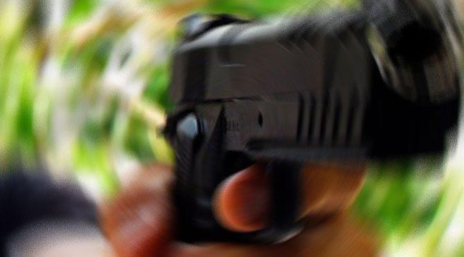 Markette kanlı soygun girişimi