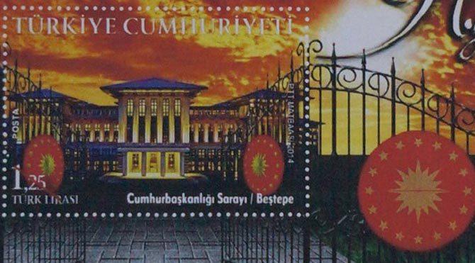 Ak Saray için pul basıldı