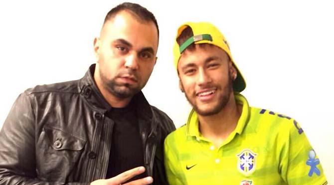 Neymar'a 53 Euro'luk hediye