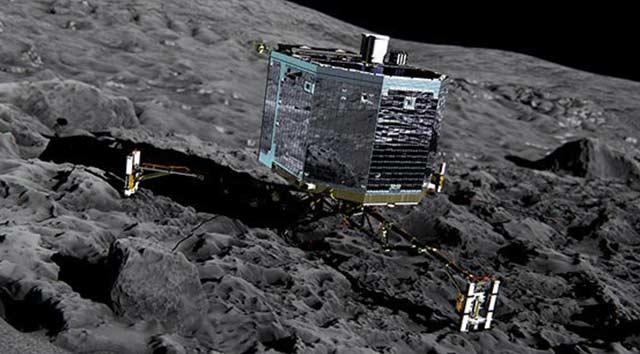 Uzay kapsülü Philae kazıya başladı
