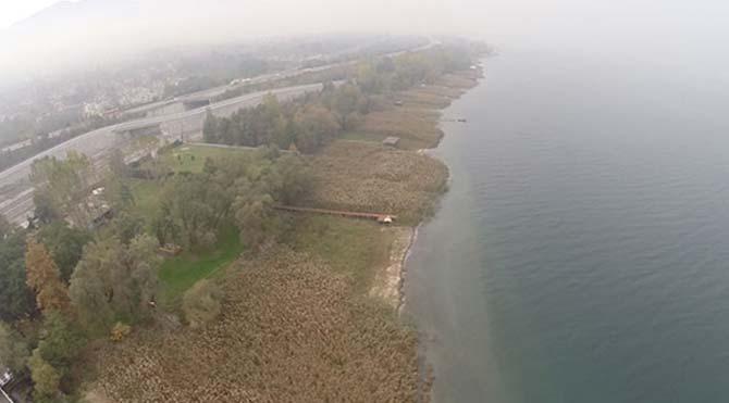 Sapanca Gölü'nün son hali