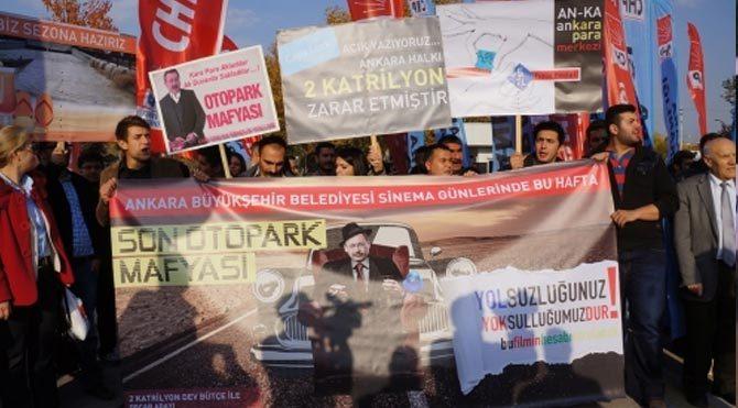 CHP'den yumurtalı protesto
