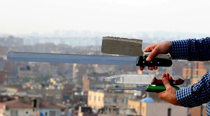 Diyarbakır'da bıçak yasağı!
